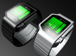 TokyoFlash alcohol monitoring watch black and steel