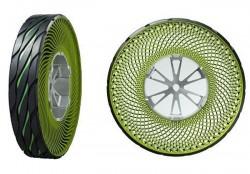Bridgestone unveils airless tire concept