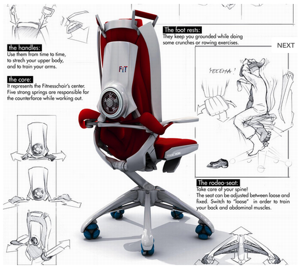 Published December at in FitWork Fitness Chair
