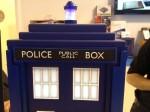Police call box sign