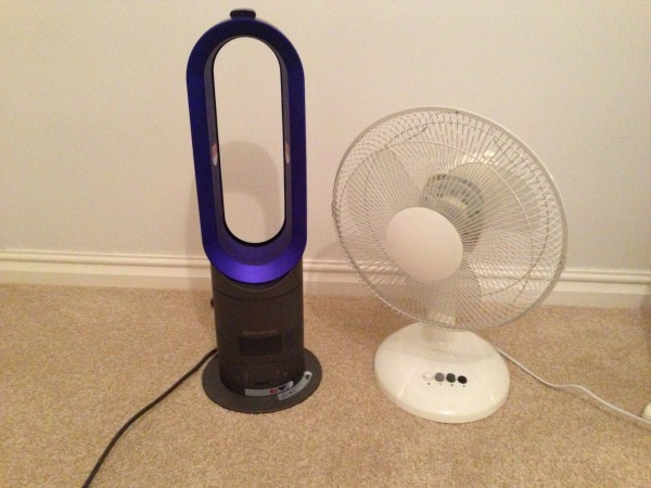 Dyson Hot and Cool Vs. A Regular Fan - A Review by Comparison