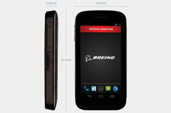 The Boeing Phone That Self Destructs (sort of)