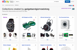 My First Gadget Inspired eBay Collections